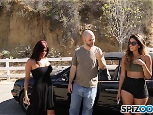 chisel craving pick up with Sophia Leone and Gina Valentina