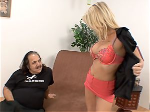 Bridgett Lee muff licked by Ron Jeremy