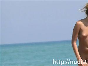 magnificent beach nudist chicks