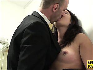 brit victim slut Sophie Garcia railing maledom
