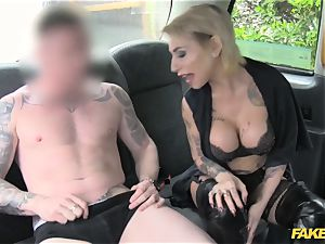 faux taxi diminutive female in killer underwear