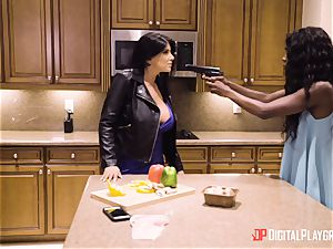 Romi Rain and Ana Foxxx cooch plowing 3