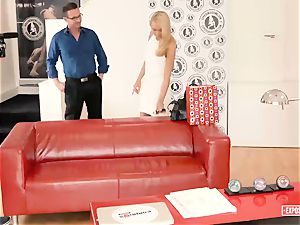 exposed casting - Katrin Tequila takes dick at casting