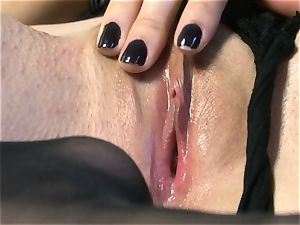 beautiful honey Sasha Grey gets her pinkish pussy screwed firm by her fucktoy till she cums