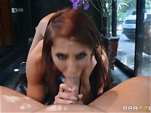 Madison Ivy gets her poon sated by dangled Kieran