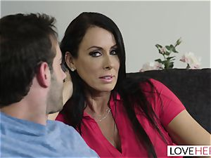 LoveHerFeet - Stepson pounds His Stepmom On The sofa