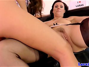 Glam british mature sixty nines with eurobabe