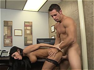 classical milf drilling at office