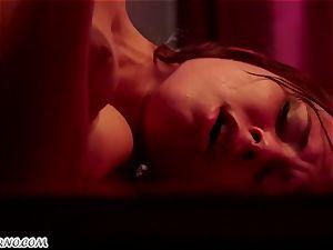 Aidra Fox - My dear daddy screws my tight coochie on the table
