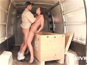scorching teen Morgan Gets Out Of The Crate And screws hard