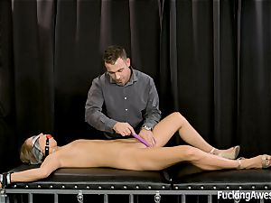 subjugated doll Jill Kassidy Gets pummeled by Mr white