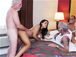 elderly dude youthful super-bitch Staycation with a mexican sweetheart