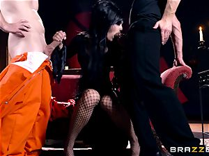 MMF penetrating for gothic honey Katrina Jade