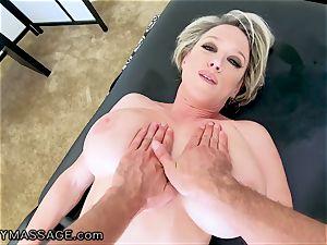 FantasyMassage mummy Dee Williams point of view dump massage