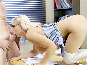 huge-titted youthful college girl Kylie Page on practical lessons of fuck-a-thon education