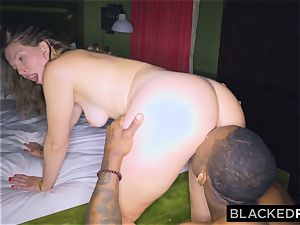 BLACKEDRAW girlfriend cheats with the fattest manstick she's EVER seen