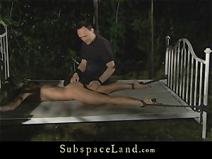 anal invasion penalty for a bound slavegirl