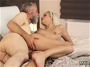 Pretty in rosy ash-blonde and mature wife cheats with youthfull girl hardcore Surprise your