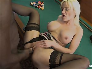 LA newcomer - steamy bi-racial anal with handsome French honey