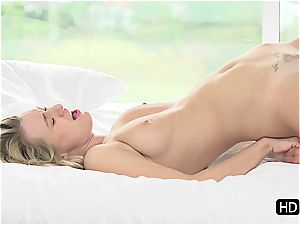 Natalia Starr having romantic romp with Johnny Sins