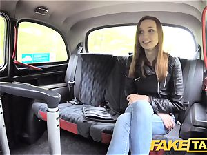 fake taxi slim ginger-haired enjoys rough hookup
