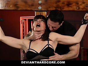 DeviantHardcore-Hot mummy touched and manacled To Cross