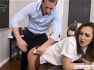 super-naughty strung up tutor Ryan pulverizes lil' Lily Jordan