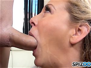 mummy Cherie Deville munches up rock-hard wood