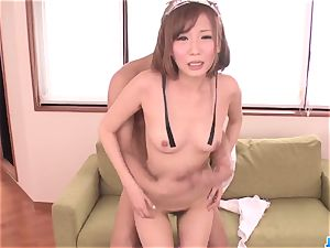 youthful maid, Mei Mizuhara, sensual romp with the tormentor