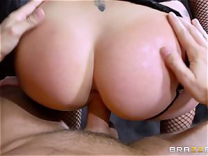 pole dancing London Keyes takes it deep in the butt