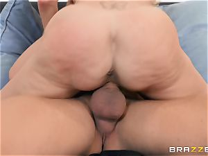Brandi love nailed in her moist pussy