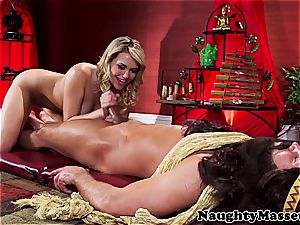 super-cute flexible lady porked by the yoga educator