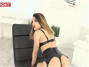 stunning Latina gets hardcore assfuck hookup from immense knob fellow