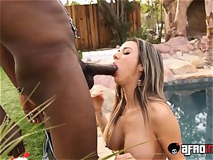 cum licking honey porked in multiracial