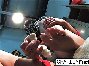 Charley Lucha Libre foot Fetish