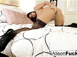 giant tittie Alison taunts