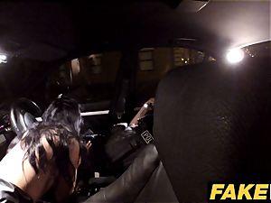 fake Cop Cheeky young lass loves courageous outdoor fucky-fucky