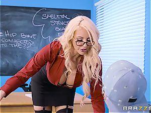 slutty schoolteacher Nicolette Shea shagged by a bad student