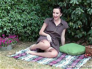 stunner picnic displaying rigid bumpers trim muff retro nylons
