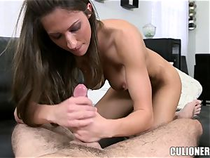 Lizz Tayler reverse cowgirl