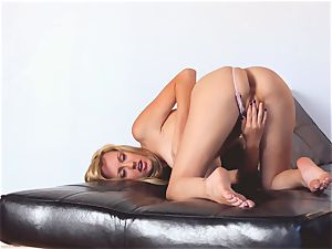 raunchy Brett Rossi bare and milking