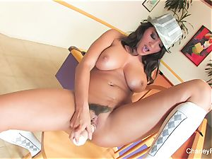 Charley chase's beautiful solo session on a bar chair
