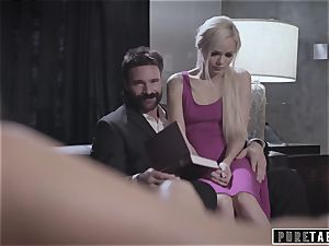 unspoiled TABOO perv Parents bang shy Foster daughter