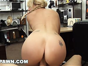 xxx PAWN - Things Get freaky When Valerie white demonstrates Up