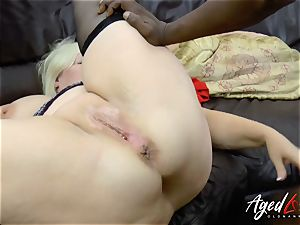 AgedLovE Lacey Starr bi-racial gonzo rectal