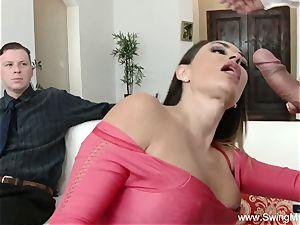 Arabian cougar Swinger fuck-a-thon