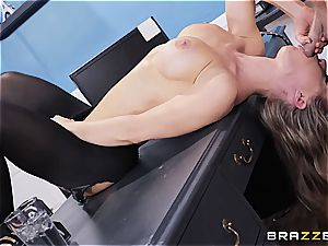 Nicole Aniston is the perfect insatiable secretary in an office romping sequence