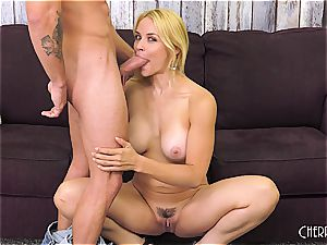Sarah Vandella nails on web cam and toys her fuckbox to ejaculation