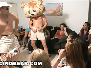 DANCINGBEAR - sensational Delivery for college girls