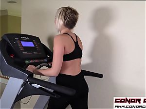ConorCoxxx-Assercise with Kate England point of view taboo assjob